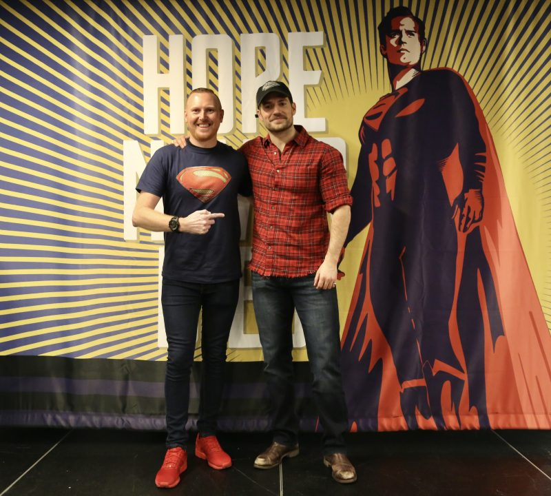 Henry Cavill private Q&A at Ace Comic Con
