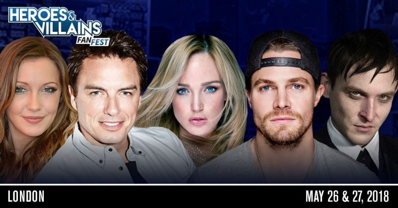 HEROES AND VILLAINS FANFEST HITS LONDON