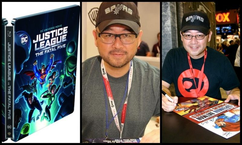 JUSTICE LEAGUE VS THE FATAL FIVE: SAM LIU INTERVIEW