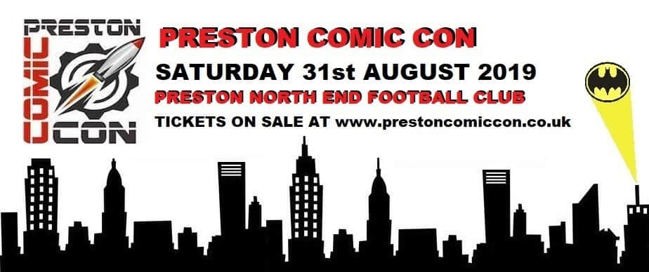 My Day at Preston Comic Con 2019