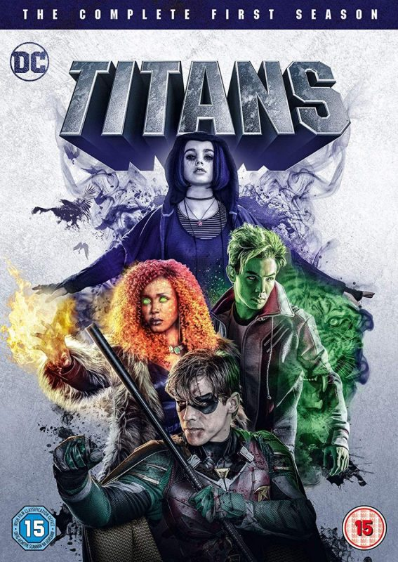 WIN TITANS SEASON 1 ON  DVD
