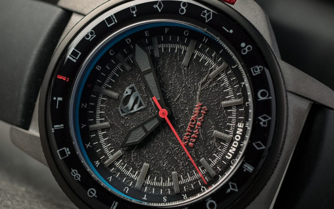 SUPERMAN THE KRYPTONIAN DECRYPTOR WATCH BY UNDONE