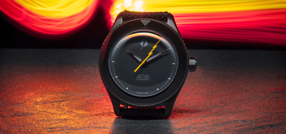 The Flash Into the Void Watch by UNDONE Watches